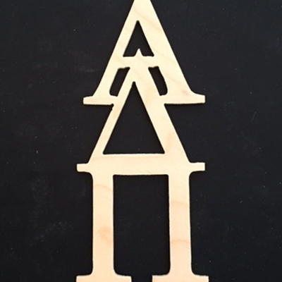 Adpi Offset Vertical Letters Dupree Sports