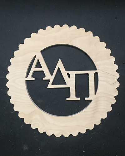 Adpi Flower With Letters